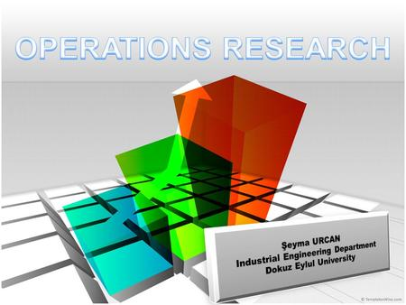 What Is The Operations Research? Operational research,also known as operations research,is an interdisciplinary mathematical science that focuses on the.