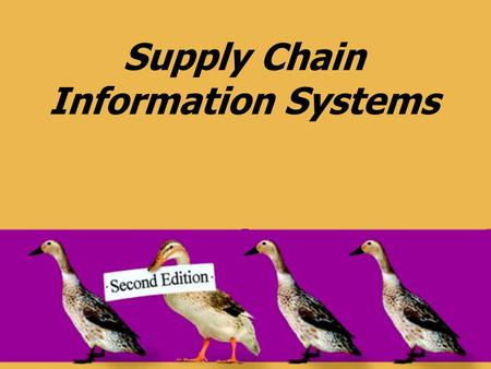 Supply Chain Information Systems. © 2008 Pearson Prentice Hall --- Introduction to Operations and Supply Chain Management, 2/e --- Bozarth and Handfield,