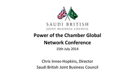 Power of the Chamber Global