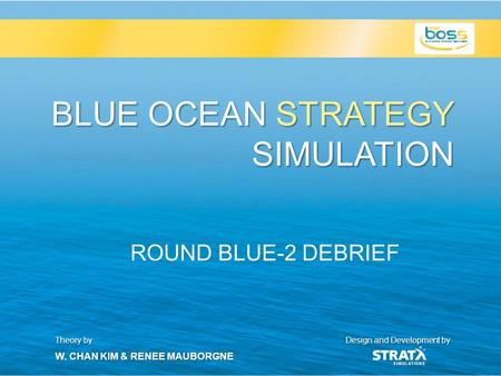 the blue ocean strategy simulation Blue ocean strategy in action your subtitle text home page how blue is your ocean blue ocean workshops blue ocean simulation  a vital role in every stratx.