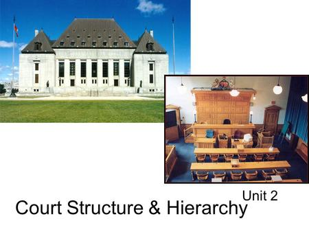 Court Structure & Hierarchy