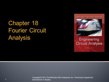 Chapter 18 Fourier Circuit Analysis