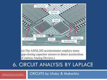 6. Circuit Analysis by Laplace