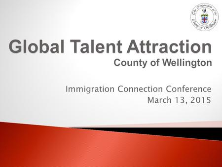 Immigration Connection Conference March 13, 2015.