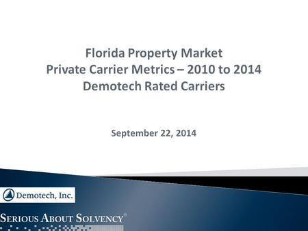 Property Insurance Companies Florida Rating