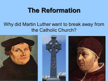 the courage of martin luther in fighting against the catholic church and the pope In the early 1500's a priest named martin luther had the courage to openly challenge the church's selling of indulgences to people this practice involved people paying money to the pope in exchange for him absolving them of their sins and thereby allowing them to go to heaven.