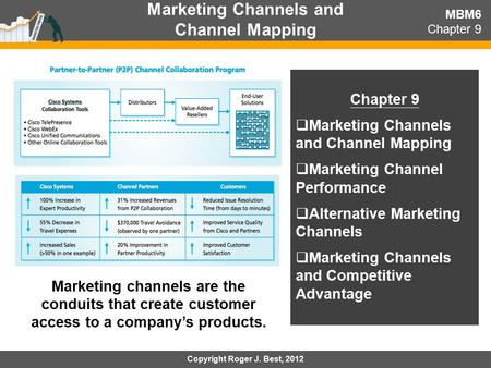 Marketing Channels and Channel Mapping