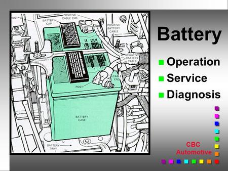 CBC Automotive n Operation n Service n Diagnosis Battery.