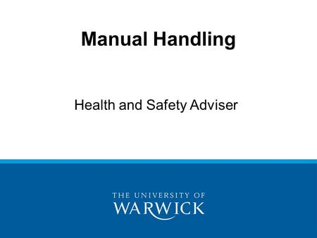 Health and Safety Adviser
