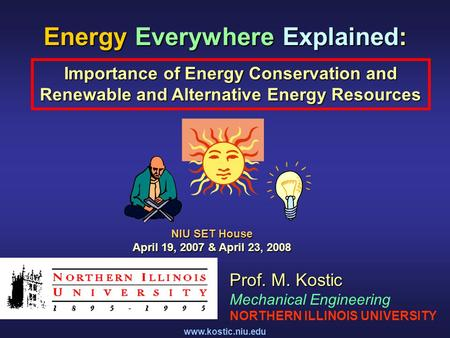 <strong>Energy</strong> Everywhere Explained: