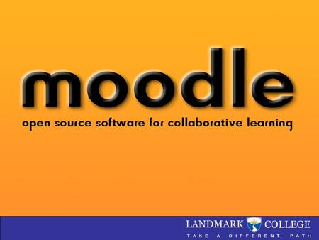 Moodle Michael Nieckoski March 2008. What is Moodle?.  Constructionism asserts that learning is particularly effective when constructing something for.