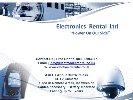 Contact Us | Free Phone 0800 9993377  | W:  Ask Us About Our Wireless.