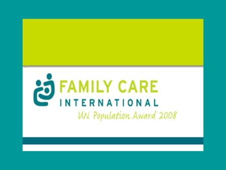 About FCI Established in 1987 as non profit organization. Work in Africa, Latin America and the Caribbean. Mission FCI is dedicated to making pregnancy.