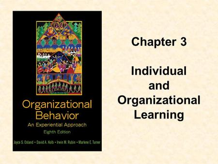 and Organizational Learning