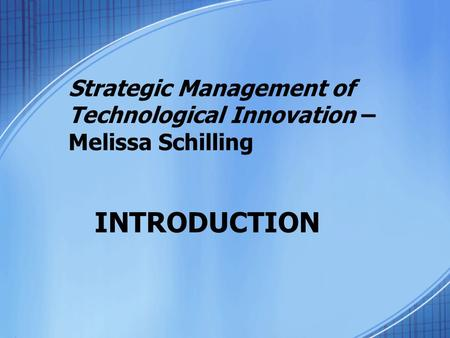 Technology Management Activities And Tools Ppt Video Online Download