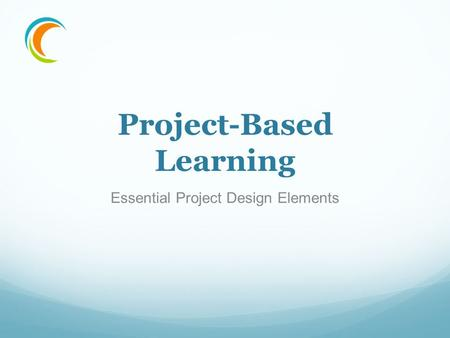 Project-Based Learning