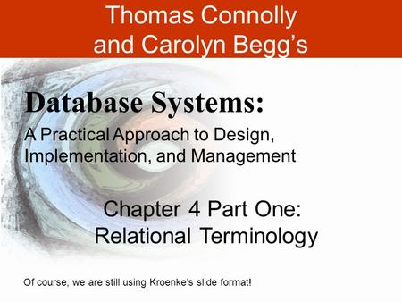 Thomas Connolly and Carolyn Begg's