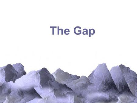 The Gap. Effect of Industrialization In the 18th century, China, India, Europe, and Japan were comparable in terms of economic development, standard of.