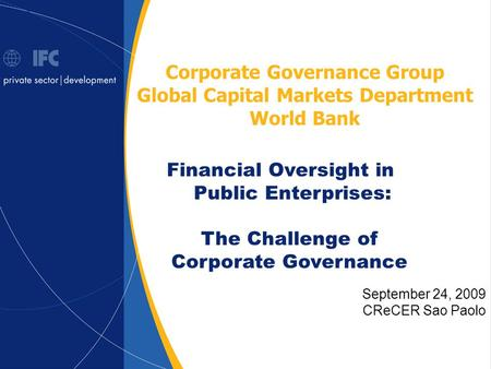 Corporate Governance Group