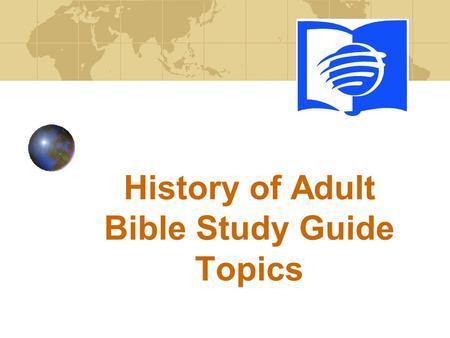 from Aryan adult bible study topics