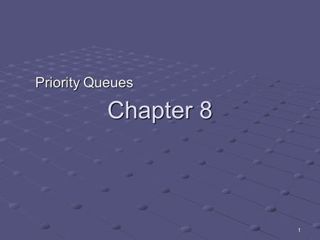 1 Chapter 8 Priority Queues. 2 Implementations Heaps Priority queues and heaps Vector based implementation of heaps Skew heaps Outline.