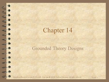 Grounded Theory Designs