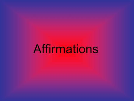 Affirmations. Being able to give and receive affirmations is a powerful leadership skills that anyone can have and will make a huge difference in the.