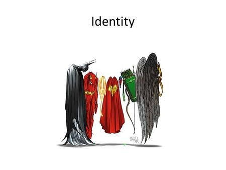 Identity. Concepts of the Individual, self, person in anthropology Individual as member of humankind (biologistic) Self as locus of experience (psychologistic)