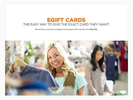 eGift Cards Go beyond traditional gift cards with eGift Cards — the reward recipients can use to select a card of choice from hundreds of retailers. Once.