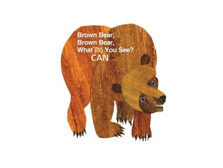 Brown bear, brown bear, What can you see? I can see a red bird Looking at me.