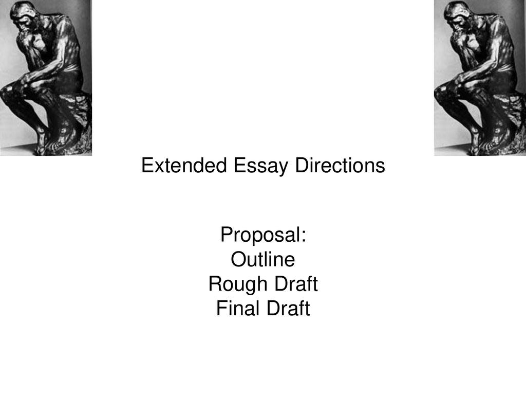 Extended essay directions cover page essay should look like