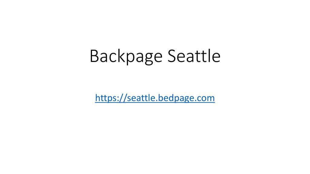 Www seattle backpage com