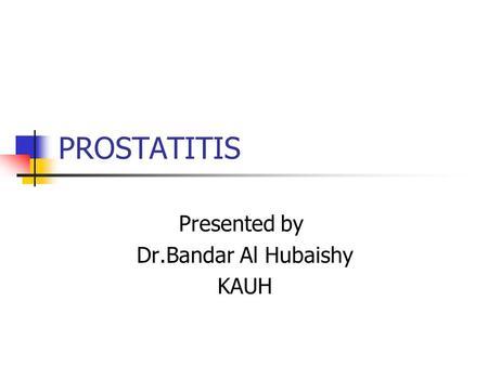 prostatitis a vonzerő után ichthyol a prostatitis
