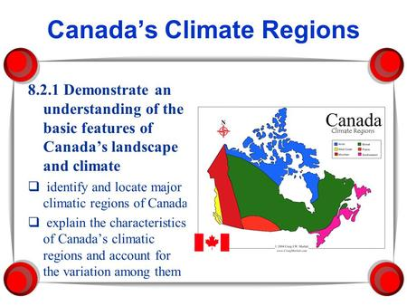 Canada's Climate Regions