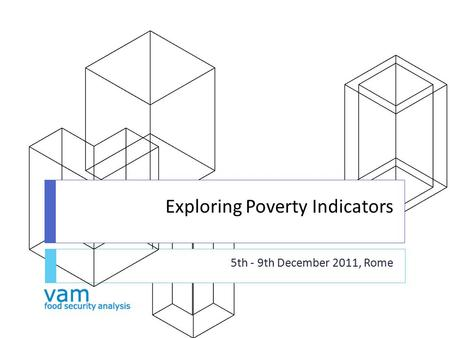 Exploring Poverty Indicators 5th - 9th December 2011, Rome.