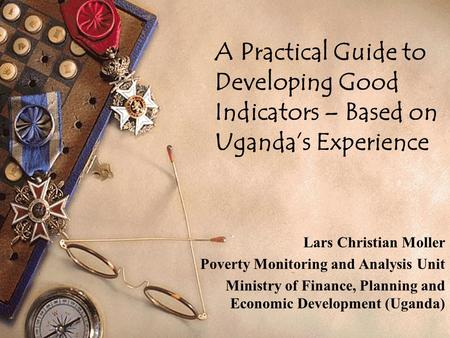 Lars Christian Moller Poverty Monitoring and Analysis Unit