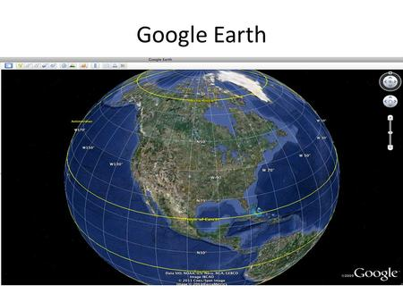 Google Earth. Adding Folders 1. Control Click on My Places, 2. Click on Add or.