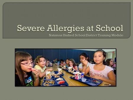  Impact of food allergies on children  What is a food allergy?  Triggers that worsen food allergies  Mild signs & symptoms  Medical management of.