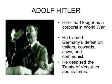 rise to hitler essay 13102018 these nazi germany essay questions have been written by alpha history  describe the life of adolf hitler between 1905 and  the nazi rise to power 1.