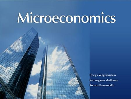 All Rights ReservedMicroeconomics © Oxford University Press Malaysia, 2008 4– 1.