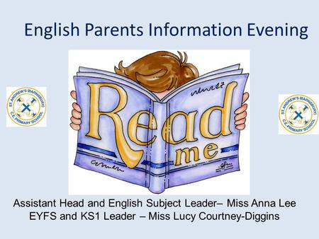 English Parents Information Evening