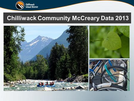 1 Chilliwack Community McCreary Data 2013. 2 2013 CCAHS INFORMATION Background Physical health Mental health Substance use Bullying, violence, abuse and.