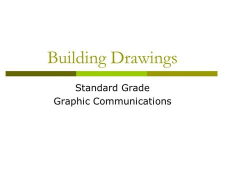 Standard Grade Graphic Communications
