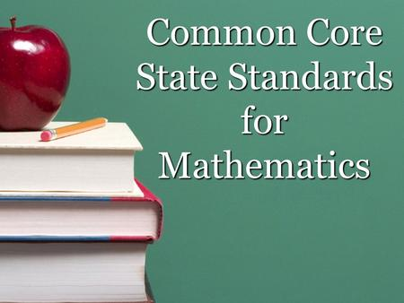 "Common Core State Standards for Mathematics. Your ""LAMP"" presenters Erin Stolp: Hopewell Tabitha Thomas: Tabernacle Introductions & Norms Norms Please."