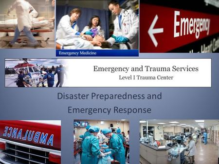 Disaster Preparedness and Emergency Response. triage noun \trē-äzh\ a : the sorting of and allocation of treatment to patients (especially battle and.