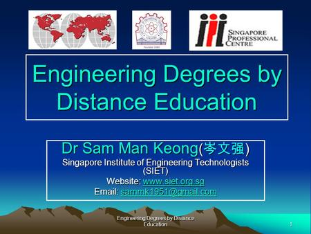 <strong>Engineering</strong> Degrees by Distance Education