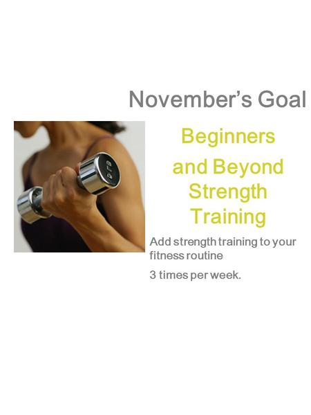 and Beyond Strength Training