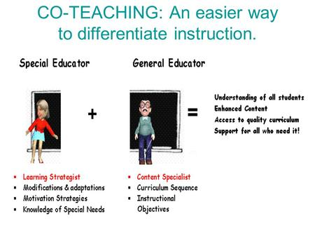 Co Teaching Instruction Ppt Video Online Download