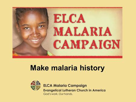 Make malaria history. Now Simon's mother-in-law was suffering from a high fever, and they asked [Jesus] about her. Then he stood over her and rebuked.