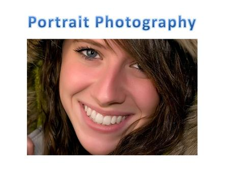 Portrait Photography.